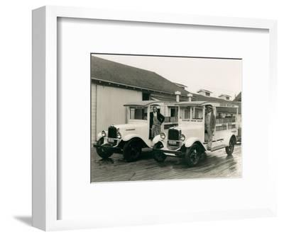 Gmc Trucks - Sanitary Infant Dairy , 1929