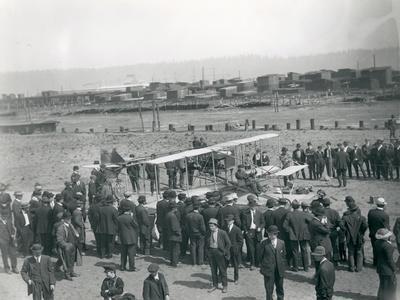 Harvey Crawford at Tacoma, 1912
