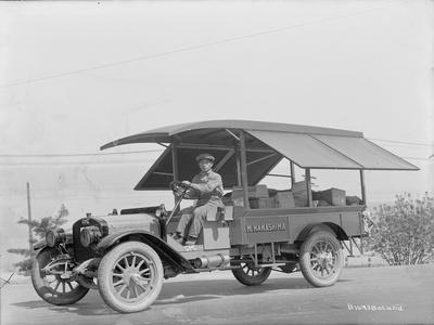 M. Nakashima Delivery Truck, Circa 1918