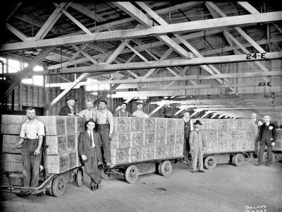 Milwaukee Road - Tea Shipment, 1921