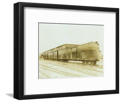 Railroad Boxcar, Chicago-Milwaukee-St. Paul Line, Circa 1920s