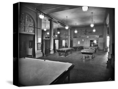 Tacoma Elks Club Billiard Room, 1925