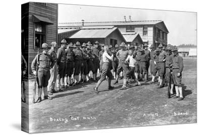 U.S. Army, Company F, 44th Infantry, Boxing, Camp Lewis, 1918