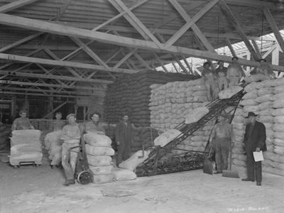 Warehouse Scene, Circa 1920s