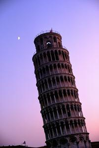 LEANING TOWER OF PISA IN ITALY by Marvin E. Newman
