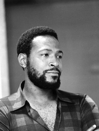 Marvin Gaye - 1974-G. Marshall Wilson-Photographic Print