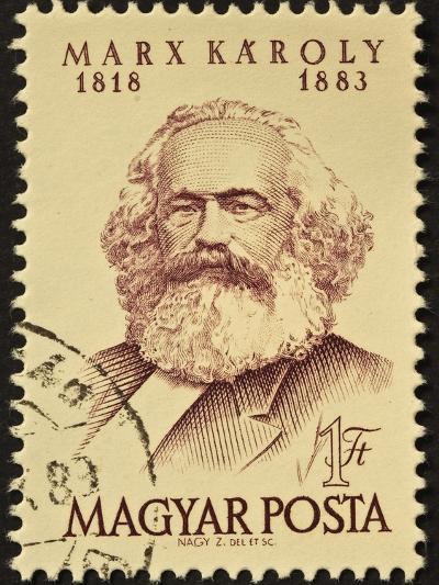 Marx Stamp-marzolino-Art Print