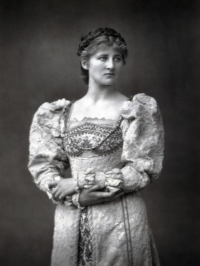 Mary Anderson (1859-194), American Stage Actress, Late 19th Century--Photographic Print