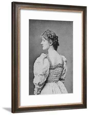 Mary Anderson, American Actress, 1887-Ernest Barraud-Framed Giclee Print