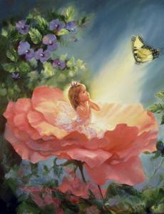 The Golden Butterfly by Mary Baxter St^ Clair