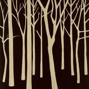 Sepia Forest 2 by Mary Calkins