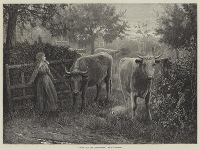 Mary, Call the Cattle Home--Giclee Print