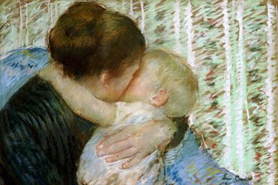 A Goodnight Hug by Mary Cassatt