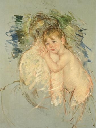 "A Study for ""Le Dos Nu"" by Mary Cassatt"