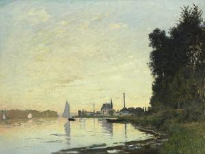 Argenteuil, Late Afternoon, 1872 by Mary Cassatt