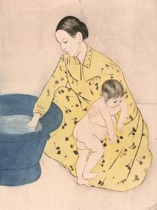 Bath, 1891 by Mary Cassatt
