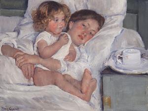 Breakfast in Bed, 1897 by Mary Cassatt