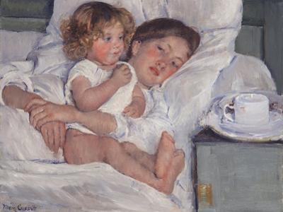 Breakfast in Bed, 1897 by Mary Cassatt