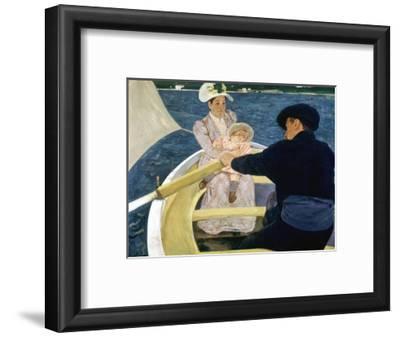 Cassatt: Boating, 1893-4