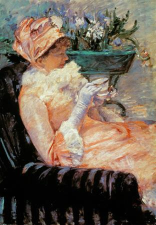 Cassatt: Cup Of Tea, 1879 by Mary Cassatt
