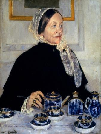 Cassatt: Lady At Tea, 1885 by Mary Cassatt