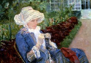 Cassatt: Lydia, 1880 by Mary Cassatt