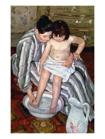 Cassatt: The Bath, 1891-2
