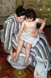 Cassatt: The Bath, 1891-2 by Mary Cassatt