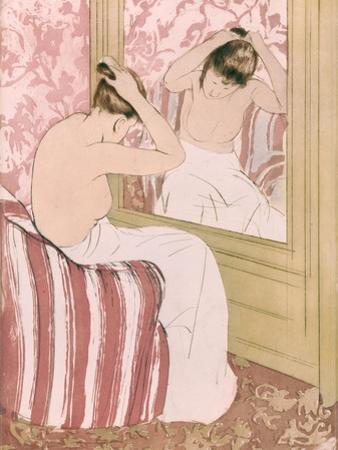 Coiffure, 1891 by Mary Cassatt