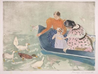 Feeding the Ducks, 1895