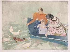Feeding the Ducks, 1895 by Mary Cassatt
