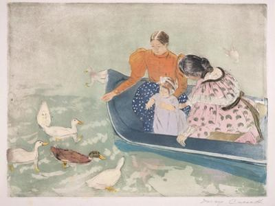 Feeding the Ducks, 1895 by Mary Cassatt