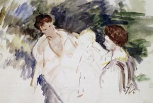 Femmes et enfants by Mary Cassatt