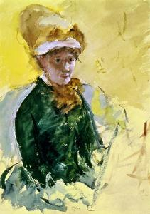 Mary Cassatt (1845-1926) by Mary Cassatt