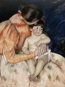 Mother and Child, 1890s by Mary Cassatt