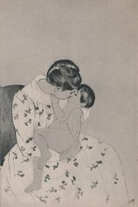 'Mother and Child', c.1890s, (1946) by Mary Cassatt