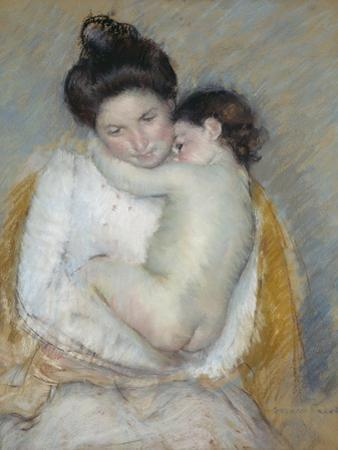 Mother and Child, C.1900 by Mary Cassatt