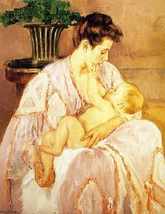 Mother and Child by Mary Cassatt