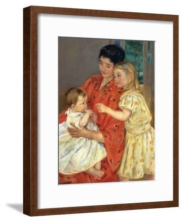 Mother and Sarah with the Baby, 1901
