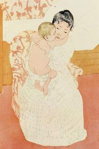 Motherly Tenderness by Mary Cassatt