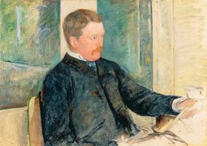 Portrait of Alexander J. Cassatt, c.1880 by Mary Cassatt