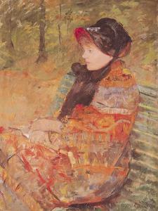 Portrait of Mlle C. Lydia Cassatt, 1880 by Mary Cassatt