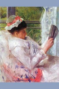 Reading Mrs. (Lydia Cassatt) by Cassatt by Mary Cassatt