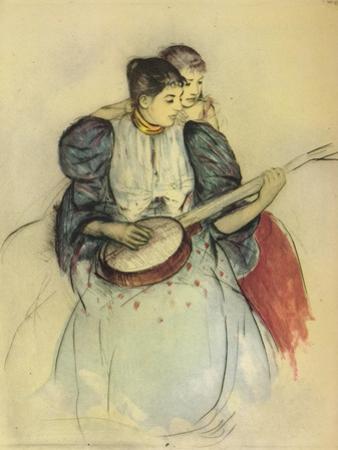 'The Banjo Lesson', 1893, (1946) by Mary Cassatt
