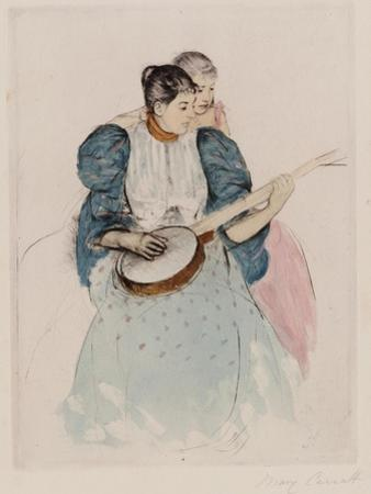 The Banjo Lesson, Circa 1893 by Mary Cassatt