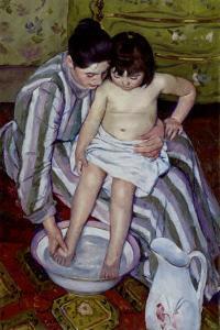 The Bath by Mary Cassatt