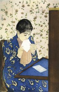 The Letter, 1891 by Mary Cassatt