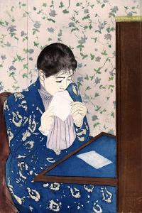 The Letter, C1890 by Mary Cassatt