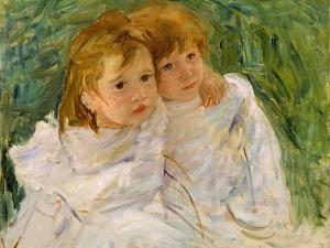 The Sisters, C.1885 by Mary Cassatt