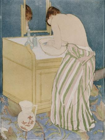 Woman Bathing, 1890-91